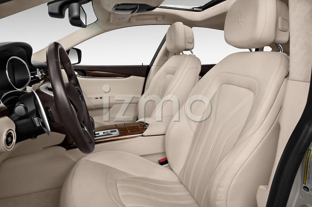 Front seat view of a 2014 Maserati Quattroporte SQ4 4 Door Sedan Front Seat car photos