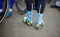 Svenness-socks at the GP Sven Nys by Canadian rider Mark McConnell<br /> <br /> GP Sven Nys 2015