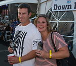 Dave and Alicia Dick at the VIP tent during Hot August Nights at the Grand Sierra Resort in Reno, Nevada on Friday, August 11, 2017.
