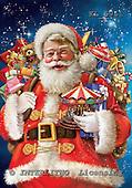 Interlitho, Simonetta, CHRISTMAS SANTA, SNOWMAN, paintings, santa, toys, KL5941,#x# Weihnachtsmänner, Papá Noel, Weihnachten, Navidad, illustrations, pinturas klassisch, clásico ,Simonetta,itdp