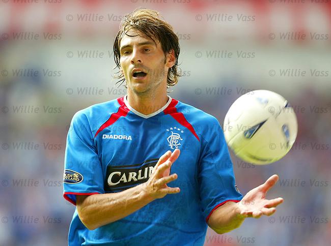 Paolo Vanoli, Rangers.stock season 2003-04..pic willie vass
