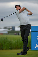 Thomas Pieters (BEL) watches his tee shot on 7 during round 3 of the AT&T Byron Nelson, Trinity Forest Golf Club, Dallas, Texas, USA. 5/11/2019.<br /> Picture: Golffile | Ken Murray<br /> <br /> <br /> All photo usage must carry mandatory copyright credit (© Golffile | Ken Murray)