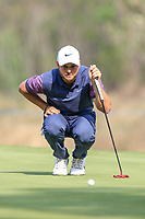 Jordan Smith (ENG) in action during the third round of the Volvo China Open played at Topwin Golf and Country Club, Huairou, Beijing, China 26-29 April 2018.<br /> 28/04/2018.<br /> Picture: Golffile | Phil Inglis<br /> <br /> <br /> All photo usage must carry mandatory copyright credit (&copy; Golffile | Phil Inglis)