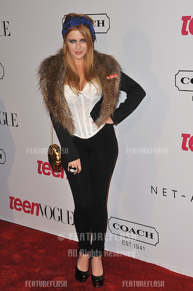 Renee Olstead at the 9th Annual Teen Vogue Young Hollywood Party at Paramount Studios, Hollywood..September 23, 2011  Los Angeles, CA.Picture: Paul Smith / Featureflash