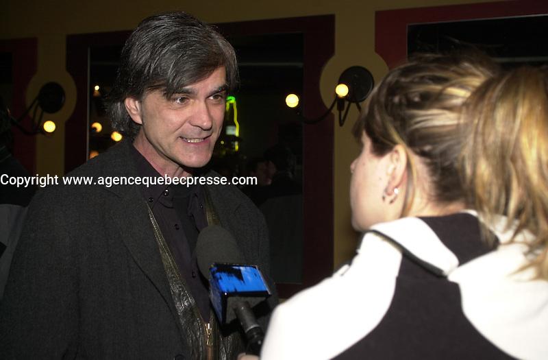 Premiere Jack Paradise :<br /> Roy Dupuis, Genevieve Rioux,