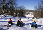 sledding hill kensington metropark