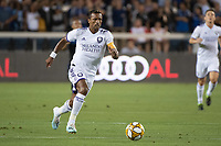SAN JOSE,  - SEPTEMBER 1: Nani  #17 of the Orlando City SC during a game between Orlando City SC and San Jose Earthquakes at Avaya Stadium on September 1, 2019 in San Jose, .