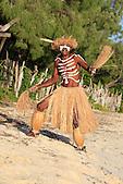 Danseur de l'Ile des Pins, troupe Olobatr, Nouvelle-Calédonie