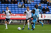 Bolton Wanderers' Harry Brockbank (2nd left) breaks away from Coventry City's Brandon Mason (2nd right) <br /> <br /> Photographer Andrew Kearns/CameraSport<br /> <br /> The EFL Sky Bet Championship - Bolton Wanderers v Coventry City - Saturday 10th August 2019 - University of Bolton Stadium - Bolton<br /> <br /> World Copyright © 2019 CameraSport. All rights reserved. 43 Linden Ave. Countesthorpe. Leicester. England. LE8 5PG - Tel: +44 (0) 116 277 4147 - admin@camerasport.com - www.camerasport.com
