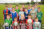 FUTURE STARS:  Future stars of West Limerick football at the St. Senans GAA Club  VHI Cul Camp in Shanagolden on Thursday last.<br /> Front L/r. Dara Feeney, Noel Griffin, Darragh Woulfe, Sean Finnucane, Sean McSweeney.<br /> Second row L/r. Christopher McDaid, Danielle Conroy, Diarmuid Nooonan, Michael Gallagher, Michael O'Connell, Ruaidhri Curtin.<br /> Back L/r. Martin Russell, Eoin McSweeney, Richard Hayes, Dayle Dannagher and Vincent O'Connell.