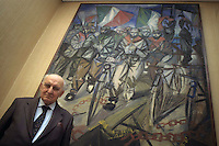 Arrigo Boldrini (Ravenna, 6 settembre 1915 - Ravenna, 22 gennaio 2008) è stato un partigiano e politico italiano. Partisan and Italian politician.....