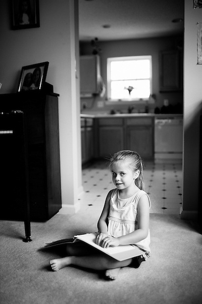 June 4, 2009. Raleigh, NC.. Due to the economic downturn, the state of North Carolina has proposed the closing of the Governor Morehead School, a school for the visually impaired in Raleigh. If no solution is found the school could be moved out of Raleigh, or merged with  the state's schools for blind and deaf children.  . Paige Strickland, a severely visually impaired child, graduated from the Gov. Morehead School, and her mother Jennifer says the school offers services for VI children that no other school in the area can.. Paige is learning to read and write brail, which she started at Gov. Morehead.