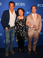 NEW YORK CITY, NY, USA - MAY 14: Will Arnett, Margo Martindale, Beau Bridges at the 2014 CBS Upfront held at Carnegie Hall on May 14, 2014 in New York City, New York, United States. (Photo by Celebrity Monitor)