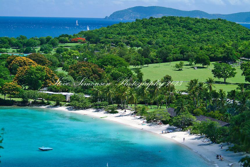 Caneel Bay St John<br /> Virgin Islands National Park<br /> U.S. Virgin Islands