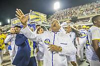 Rio de Janeiro (RJ) 24/02/20 Carnaval- Rio - Apresentacao da escola de samba Unidos da Tijuca do grupo especial, no segundo dia de desfile no Sambodromo na Marques de Sapucai nesta segunda - feira de Carnaval (24). O cantor Dudu Nobre. (Foto: Ellan Lustosa/Codigo 19/Codigo 19)