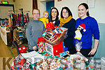 Kate Brosnan, Danny Dowling, Eavan O'Connor, Ann-Marie Russell and Karen Lawlor, pictured at Ardfert Christmas Craft Fair on Sunday last.