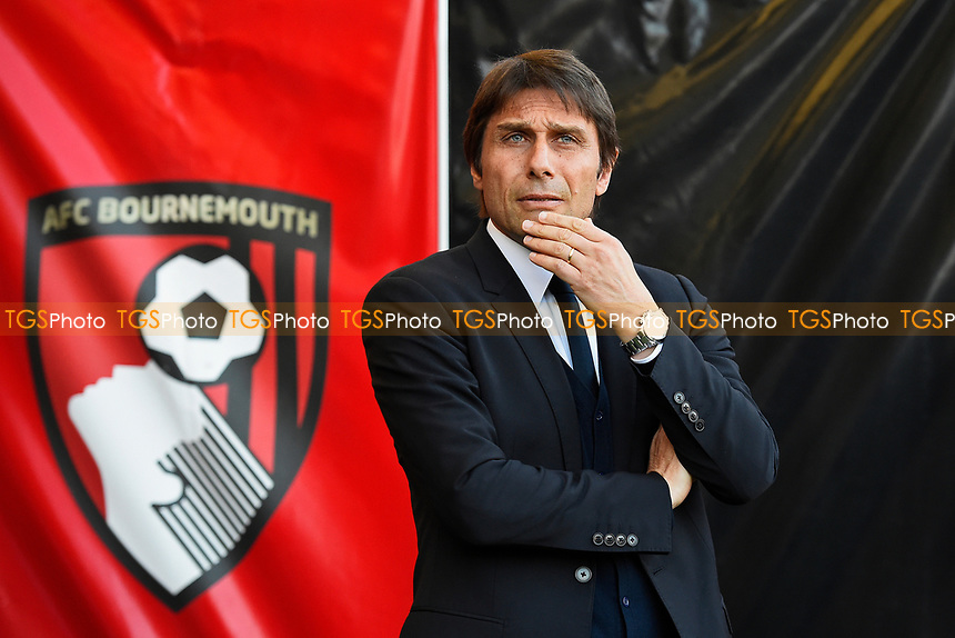 Chelsea Manager Antonio Conte during AFC Bournemouth vs Chelsea, Premier League Football at the Vitality Stadium on 8th April 2017