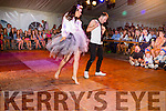 James Flaherty in full swing with jennifer Conway in the Kerry Hurlers Strictly Come Dancing at The Marquee Stretford End,Causeway on saturday night.