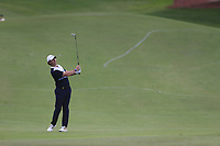 Rory McIlroy (NIR) on the 15th during the 1st round of the DP World Tour Championship, Jumeirah Golf Estates, Dubai, United Arab Emirates. 21/11/2019<br /> Picture: Golffile | Fran Caffrey<br /> <br /> <br /> All photo usage must carry mandatory copyright credit (© Golffile | Fran Caffrey)