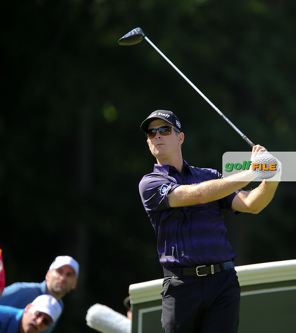 25 JUN 15 Defending Champ Kevin Streelman during Thursday's First Round at The Travelers Championship at TPC River Highlands in Cromwell,Conn.(photo credit : kenneth e. dennis/kendennisphoto.com)