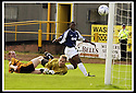 24/8/02         Copyright Pic : James Stewart                     .File Name : stewart-alloa v falkirk 17.FALKIRK'S TRINIDADIAN INTERNATIONALIST COLLIN SAMUEL FIRES HOME THE FIFTH GOAL......James Stewart Photo Agency, 19 Carronlea Drive, Falkirk. FK2 8DN      Vat Reg No. 607 6932 25.Office : +44 (0)1324 570906     .Mobile : + 44 (0)7721 416997.Fax     :  +44 (0)1324 570906.E-mail : jim@jspa.co.uk.If you require further information then contact Jim Stewart on any of the numbers above.........