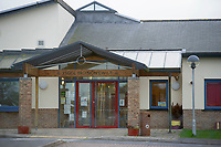 Pictured: A general view of Ysgol Bro Sion Cwilt, the school Efan Lloyd Williams attended in Llandysul, West Wales, UK. T. Tuesday 23 October 2018<br />