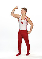 Stanford, CA -- October 3, 2018: Stanford Men's Gymnastics Photo Day.
