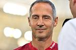 07.10.2018, wirsol Rhein-Neckar-Arena, Sinsheim, GER, 1 FBL, TSG 1899 Hoffenheim vs Eintracht Frankfurt, <br /><br />DFL REGULATIONS PROHIBIT ANY USE OF PHOTOGRAPHS AS IMAGE SEQUENCES AND/OR QUASI-VIDEO.<br /><br />im Bild: Adi H&uuml;tter / Huetter / Hutter (Trainer Eintracht Frankfurt)<br /><br />Foto &copy; nordphoto / Fabisch
