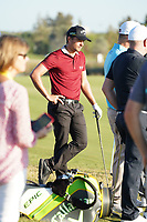 Haydn Porteous (RSA) during the EDGA nearest the pin challenge following Round 3 of the Portugal Masters, Dom Pedro Victoria Golf Course, Vilamoura, Vilamoura, Portugal. 26/10/2019<br /> Picture Andy Crook / Golffile.ie<br /> <br /> All photo usage must carry mandatory copyright credit (© Golffile   Andy Crook)