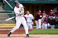Brent Seifert (4) of the Missouri State Bears during a game vs. the Western Illinois Leathernecks at Hammons Field in Springfield, Missouri;  March 19, 2011.  Photo By David Welker/Four Seam Images
