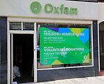 Oxfam office internet sales, Hamilton Road, Felixstowe, Suffolk, England, UK