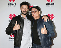 LOS ANGELES - JAN 17:  Kris Van Damme and Jean-Claude Van Damme at the 2020 iHeartRadio Podcast Awards at the iHeart Theater on January 17, 2020 in Burbank, CA