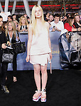 Elle Fanning attends The world premiere of Summit Entertainment's THE TWILIGHT SAGA: BREAKING DAWN -PART 2 held at  Nokia Theater at L.A. Live in Los Angeles, California on November 12,2012                                                                               © 2012 DVS / Hollywood Press Agency