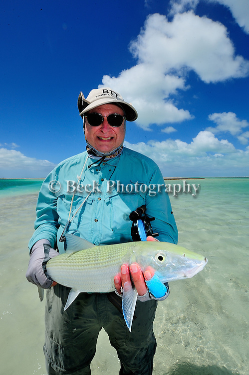 Bill Kappel's nice Christmas Island bonefish