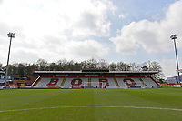 General view of the Lamex stadium during Stevenage vs Cambridge United, Sky Bet EFL League 2 Football at the Lamex Stadium on 14th April 2018
