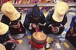 China, a Bai festival in Dali, Yunnan Province