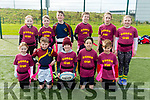 Community Games Tag Rugby at the IT Tralee on Sunday. Pictured Duagh Lyre,