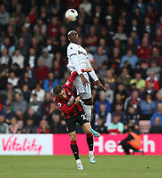West Ham United's Angelo Ogbonna and Bournemouth's Harry Wilson<br /> <br /> Photographer Rob Newell/CameraSport<br /> <br /> The Premier League - Bournemouth v West Ham United - Saturday 28th September 2019 - Vitality Stadium - Bournemouth<br /> <br /> World Copyright © 2019 CameraSport. All rights reserved. 43 Linden Ave. Countesthorpe. Leicester. England. LE8 5PG - Tel: +44 (0) 116 277 4147 - admin@camerasport.com - www.camerasport.com