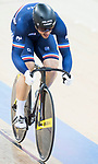 Quentin Lafargue of the team of France competes in Men's Team Sprint - Qualifying match as part of the 2017 UCI Track Cycling World Championships on 12 April 2017, in Hong Kong Velodrome, Hong Kong, China. Photo by Victor Fraile / Power Sport Images
