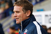 9th September 2017, Macron Stadium, Bolton, England; EFL Championship football, Bolton Wanderers versus Middlesbrough; Bolton Wanderers manager Phil Parkinson before the game