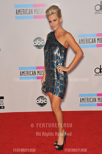 Jenny McCarthy at the 2010 American Music Awards at the Nokia Theatre L.A. Live in downtown Los Angeles..November 21, 2010  Los Angeles, CA.Picture: Paul Smith / Featureflash