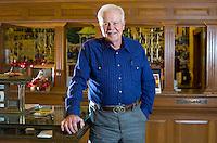 NWA Democrat-Gazette/JASON IVESTER <br />John Cross; photographed on Friday, Nov. 20, 2015, inside Cornerstone Bank in Eureka Springs for nwprofiles
