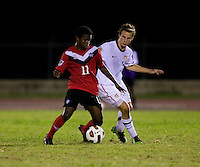 Nathan Smith, Christopher Nanco. The United States defeated Canada, 3-0, during the final game of the CONCACAF Men's Under 17 Championship at Catherine Hall Stadium in Montego Bay, Jamaica.