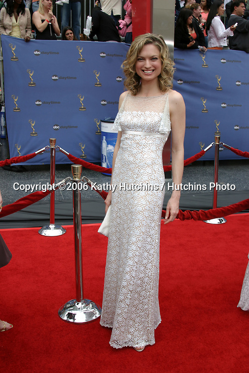 Nicole Forester.33rd Daytime Emmy Awards.Kodak Theater.Hollywood & Highland.Los Angeles, CA.April 28, 2006.©2006 Kathy Hutchins / Hutchins Photo..