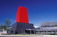 Owens Corning World Headquarters, manufacturers of fiberglass insulation, Toledo, Ohio, architect: I. M. Pei.
