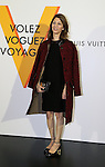 """April 21, 2016, Tokyo, Japan - US film director Sophia Coppola smiles during a photo call for the reception of Louis Vuitton's art exhibition in Tokyo on Thursday, April 21, 2016. French luxury barnd Luis Vuitton will hold the exhibition """"Volez, Voguez, Voyagez"""" in Tokyo from April 23 through June 19.  (Photo by Yoshio Tsunoda/AFLO) LWX -ytd-"""