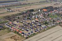 Kirchwerder Kirchenland: DEUTSCHLAND, HAMBURG 14.01.2012:Wohnsiedlung in Kirchwerder