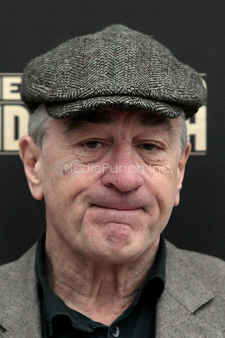 Robert De Niro during a photocall of the movie Grudge Match on January 7, 2014 in Rome, Italy. Credit: Topphotos/Unimedia/MediaPunch Inc. ***FOR USA ONLY***
