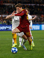 Nicolo Zaniolo of AS Roma  during the Champions League Group  soccer match between AS Roma - Real Madrid  at the Stadio Olimpico in Rome Italy 27 November 2018