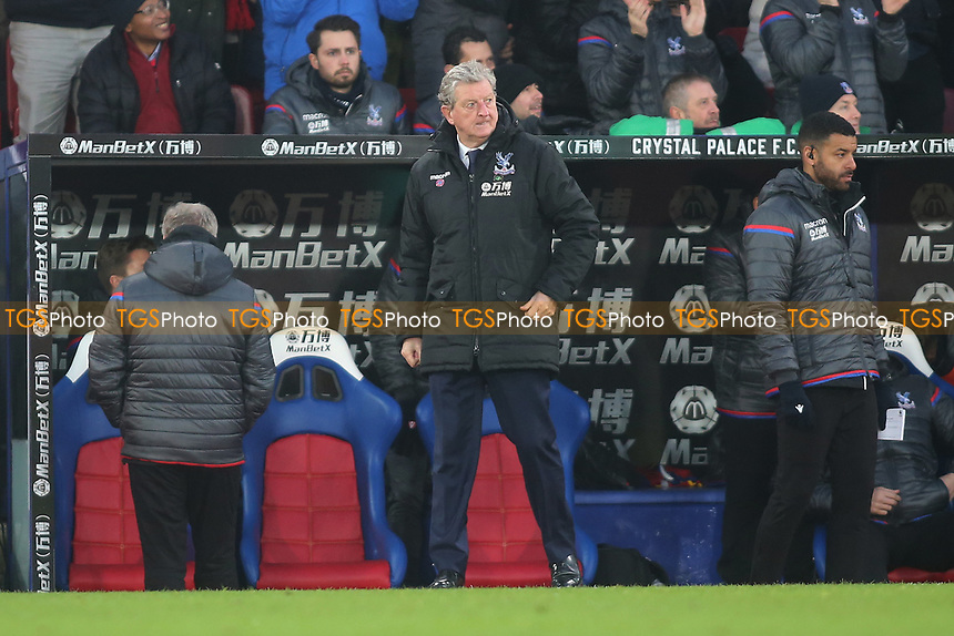 Roy Hodgson manager of Crystal Palace during Crystal Palace vs AFC Bournemouth, Premier League Football at Selhurst Park on 9th December 2017